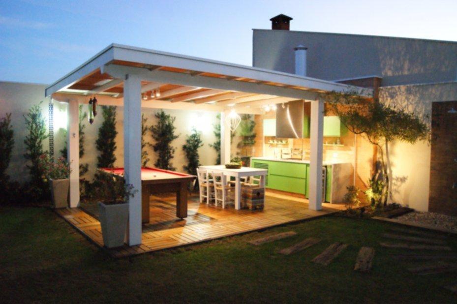 Prepar tu quincho de manera sencilla for Casa minimalista con quincho