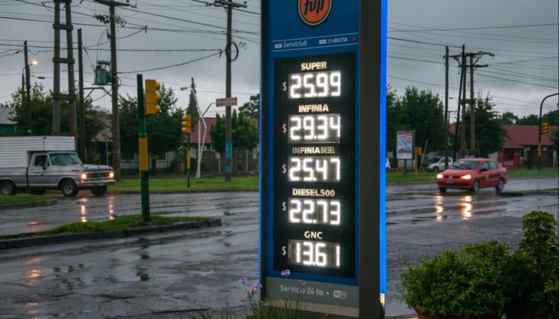 La petrolera YPF aumentó un 4% sus naftas en Mendoza