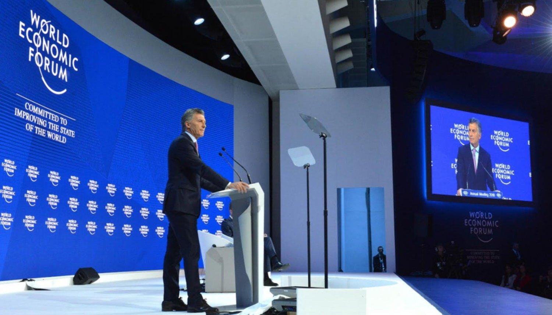 Macri en Davos: