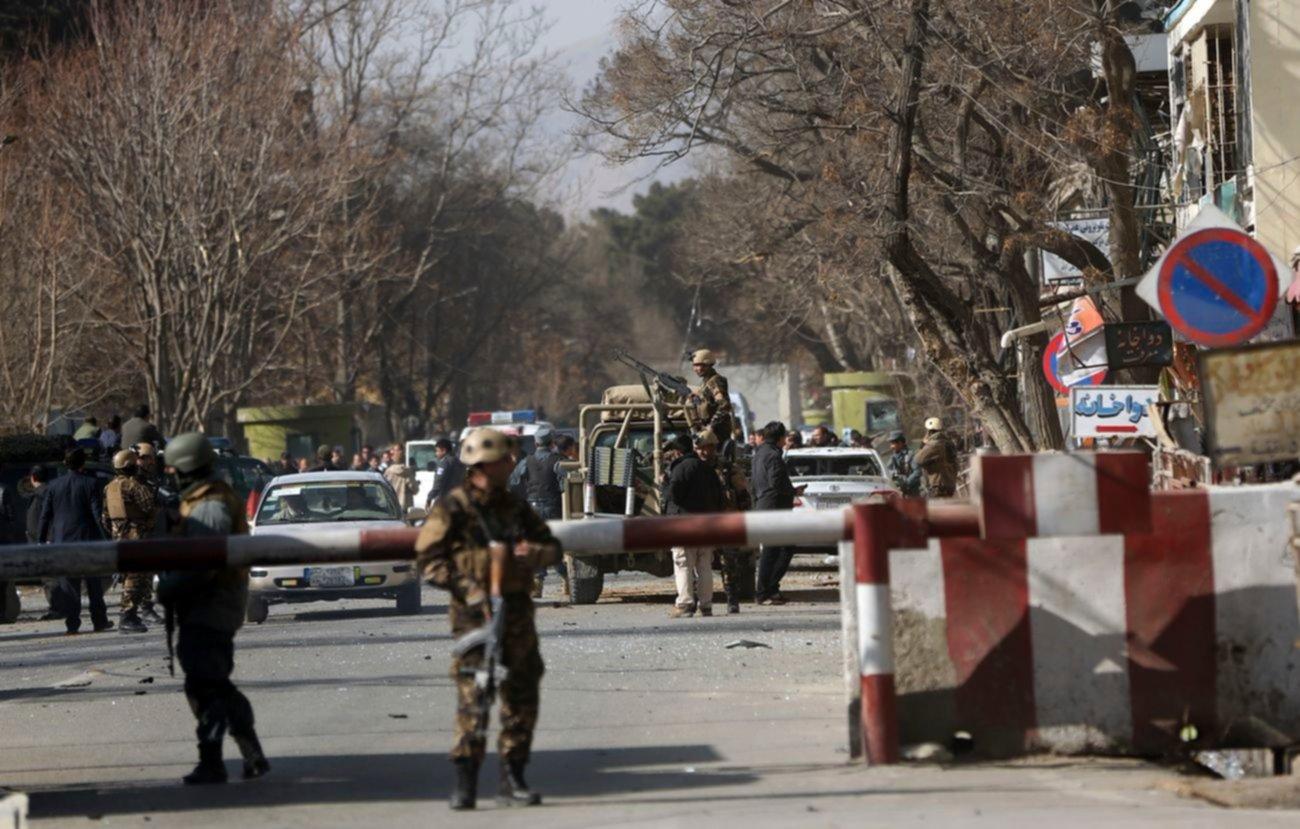 Atentado en Kabul deja al menos 40 muertos y 140 heridos