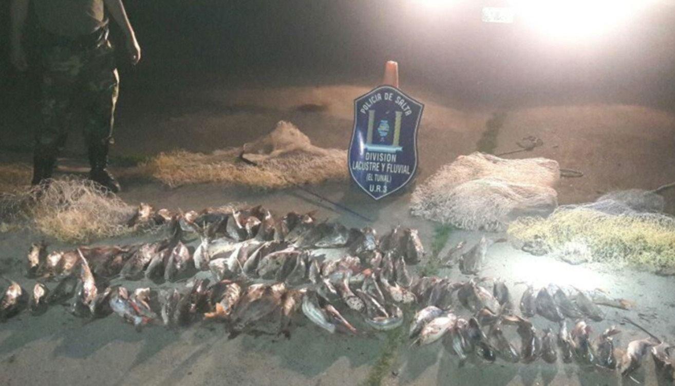Sigue la lucha  contra la  pesca ilegal en el Juramento