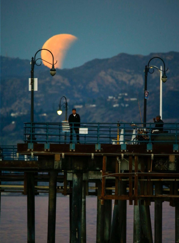 Vista desde las montañas de Santa Mónica en California, EEUU.