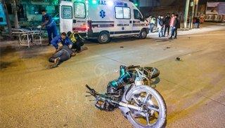 El 73% de los pacientes por accidentes andaba en moto