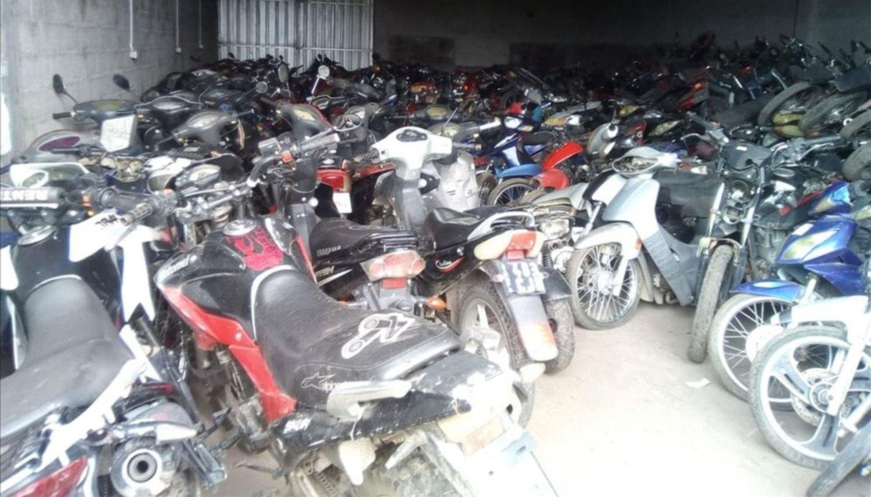 Trasladan a un nuevo depósito más de 500 motos secuestradas