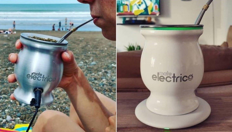 Argentinos desarrollaron el primer mate eléctrico que no se lava
