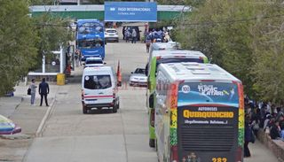 Controles estrictos en la frontera con Bolivia