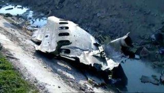 Sin sobrevivientes: se estrelló un avión y murieron 176 pasajeros