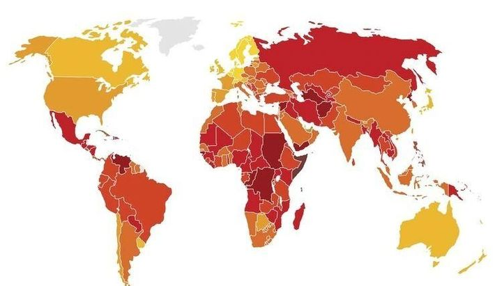 Argentina subió 19 lugares en el ranking global que mide la corrupción