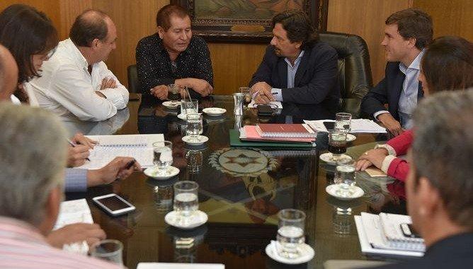 Por la crisis sociosanitaria en el norte, Sáenz se reunió con el intendente de Santa Victoria Este