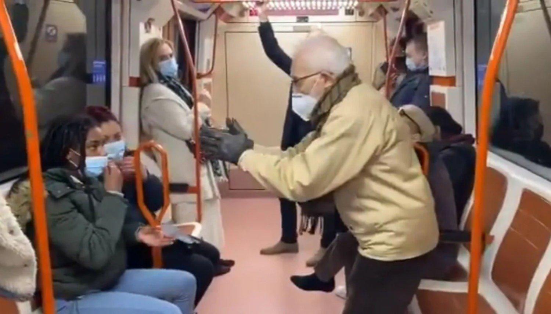 Video viral: Violenta discusión e insultos por un barbijo mal puesto