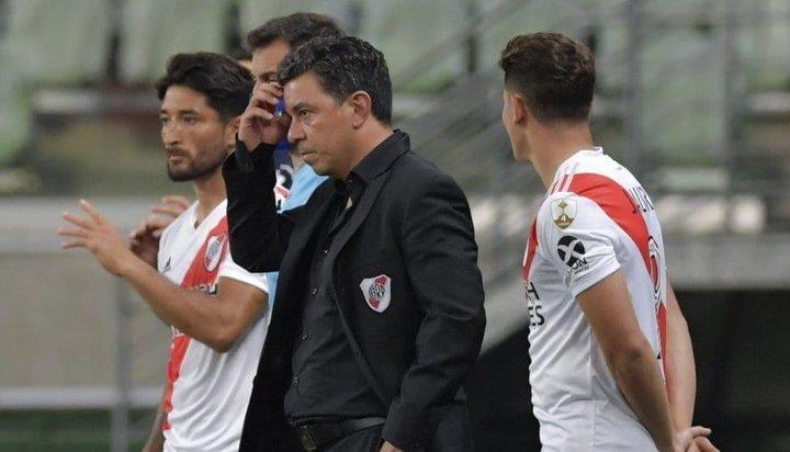 """Gallardo, tras la eliminación de River: """"Lo que vi de mi equipo me hace sentir orgulloso"""""""