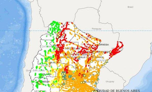 Mapa Del Dengue En La Argentina Por Provincia