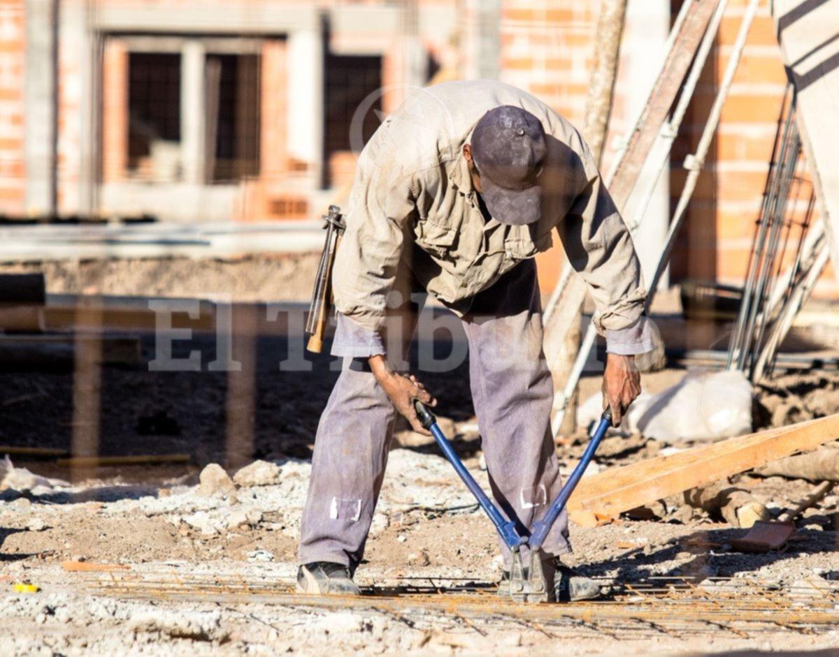 La construcción es el único motor del empleo