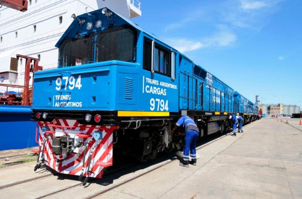 Llegaron nuevas locomotoras