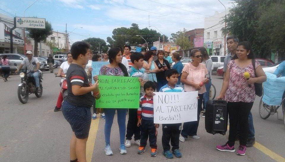 """Marchas en contra del """"tarifazo"""" de energía"""