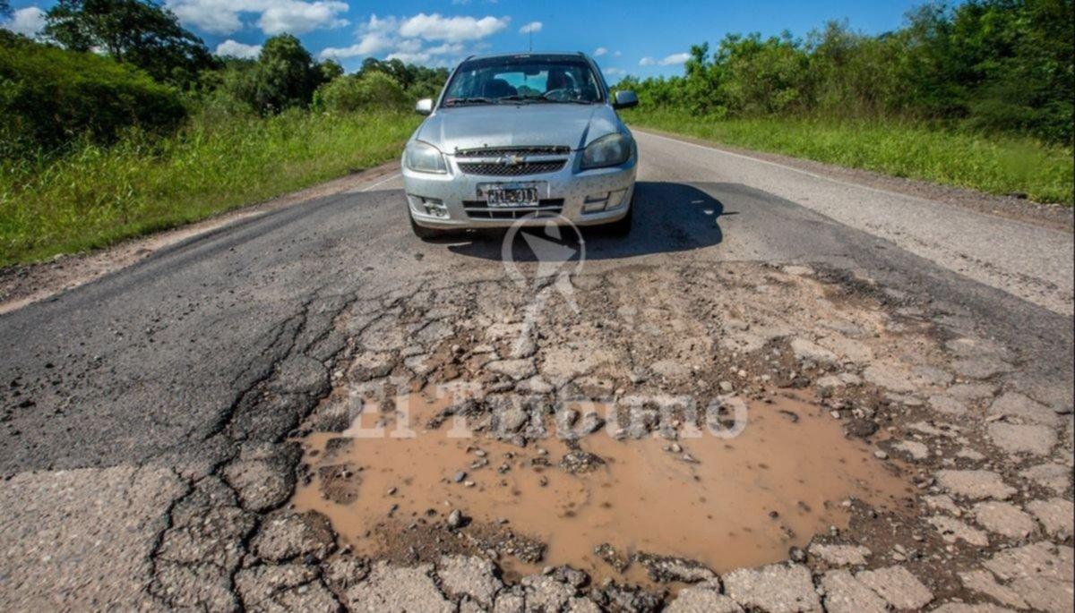 Malestar de los  productores por el estado de rutas  y caminos rurales