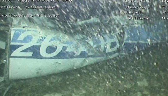 Recuperaron el cuerpo que estaba dentro del avión en el que viajaba Emiliano Sala