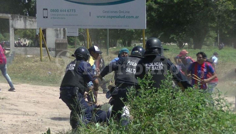 Violento despeje de un corte en la ruta 34: hay al menos tres detenidos