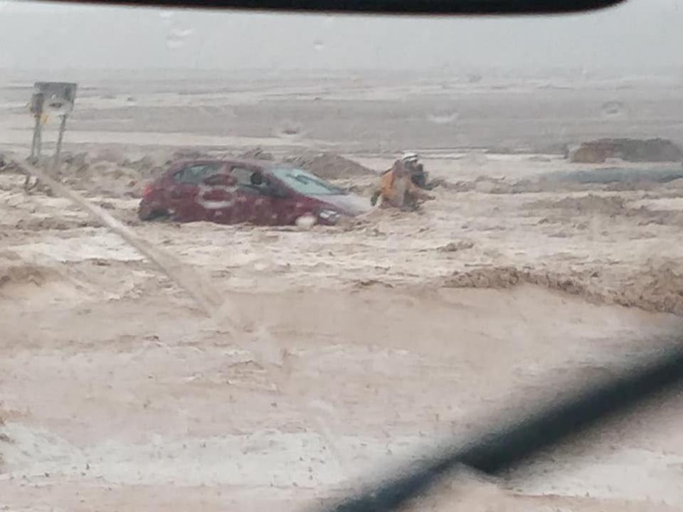 [VIDEO] Puente en ruta Calama-Chuquicamata colapsa producto de socavón