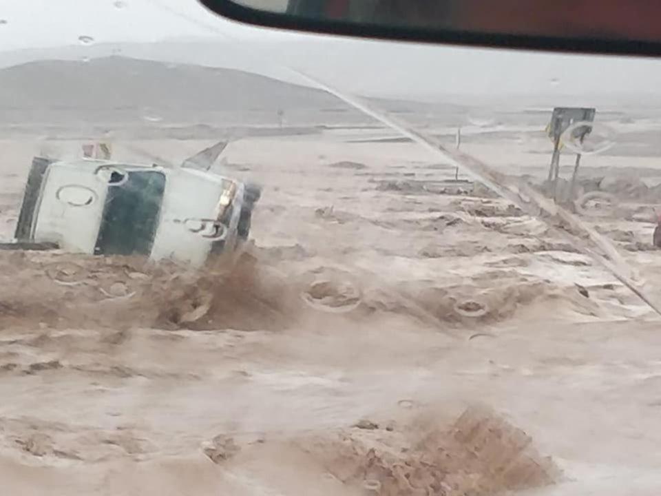 Por lluvias, declaran catástrofe en el norte de Chile