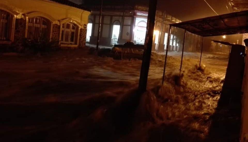 La tormenta inundó el Valle de Lerma