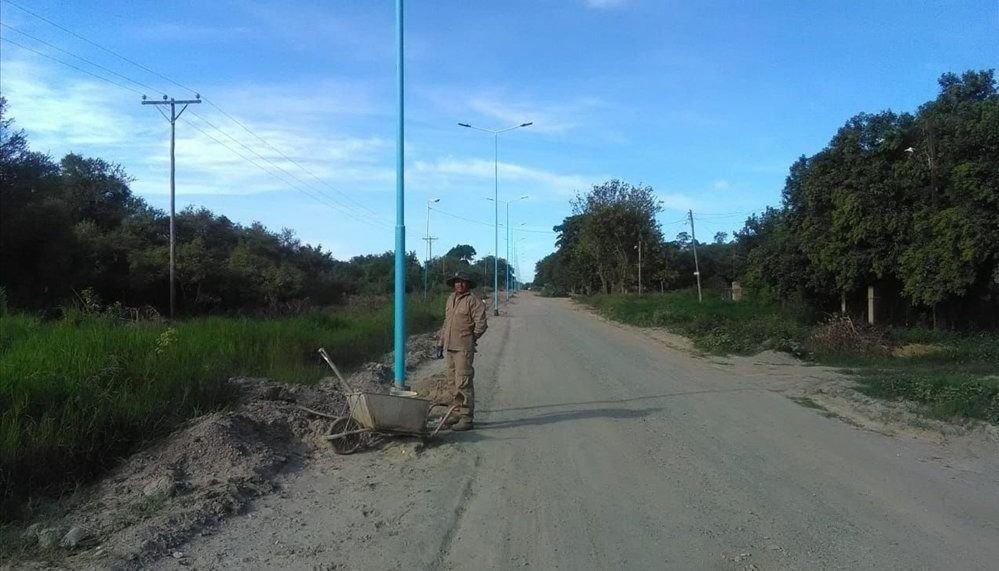 Mejoran el  acceso y la  avenida principal