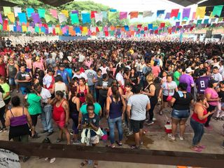 Multitudinario desentierro del Carnaval sampedreño