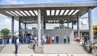 Inauguraron nuevo edificio del Centro de Hemoterapia
