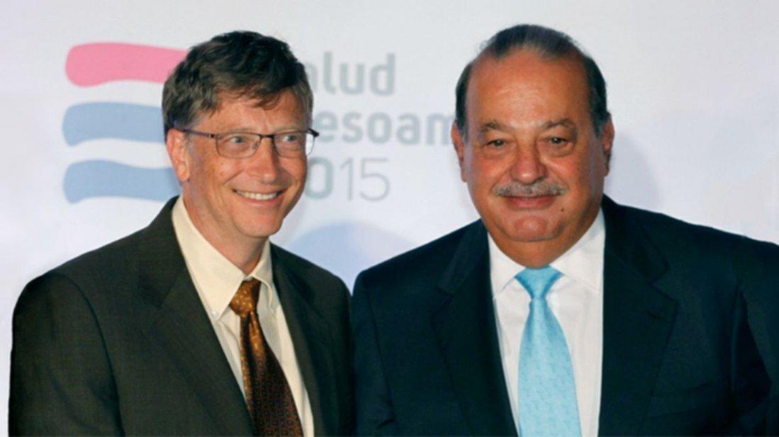 Forbes: Bill Gates y Carlos Slim, los más ricos del mundo