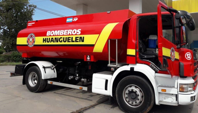 Bomberos contarán pronto con una gran cisterna belga