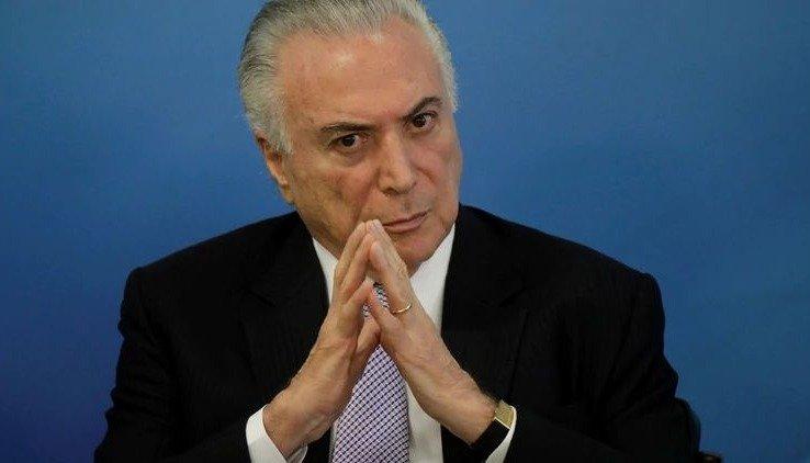 Detuvieron al expresidente de Brasil, Michel Temer, en el marco de la investigación por el Lava Jato