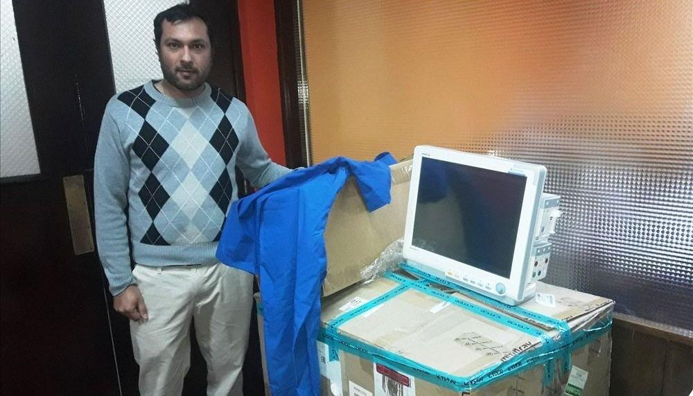 Nuevo equipamiento para salas de cirugía del hospital