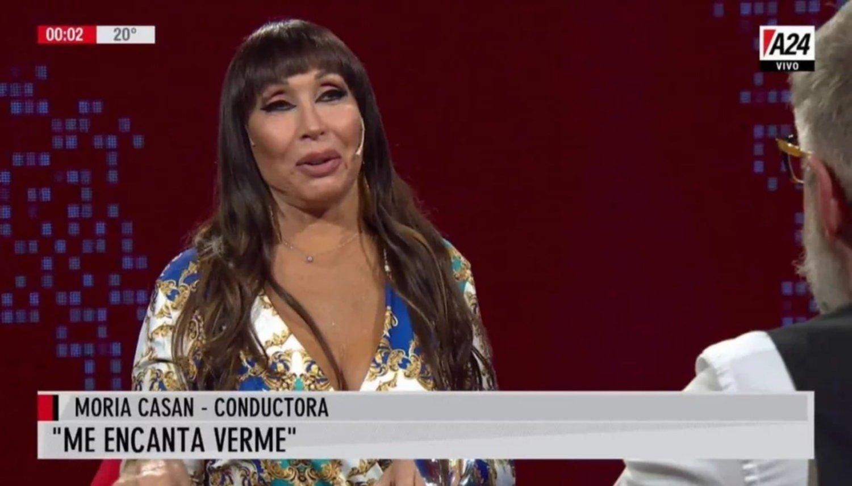 """Moria Casán le bajó el pulgar a Marcelo Tinelli:: """"No lo votaría porque no le creo"""""""