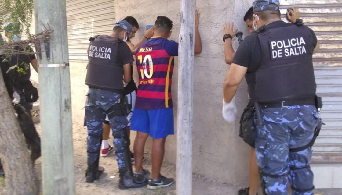 Comenzaron las detenciones por violar la cuarentena en Salta: ya son 42 los demorados