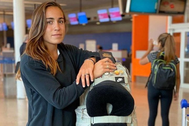 """La mejor atleta argentina, varada en San Pablo: """"Con tal de no contagiar, me quedo"""""""