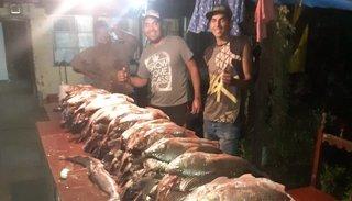 Metán: identificaron a los pescadores furtivos del río Medina