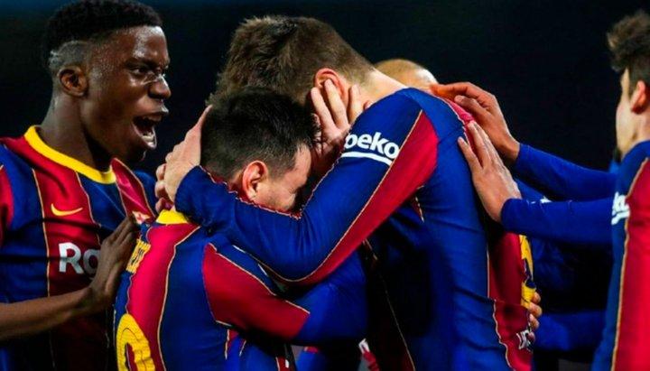 """Esta vez sí hubo """"milagro"""" copero para Messi y el Barcelona"""