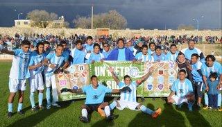 Racing de Ojo de agua eliminó a Pampa Blanca
