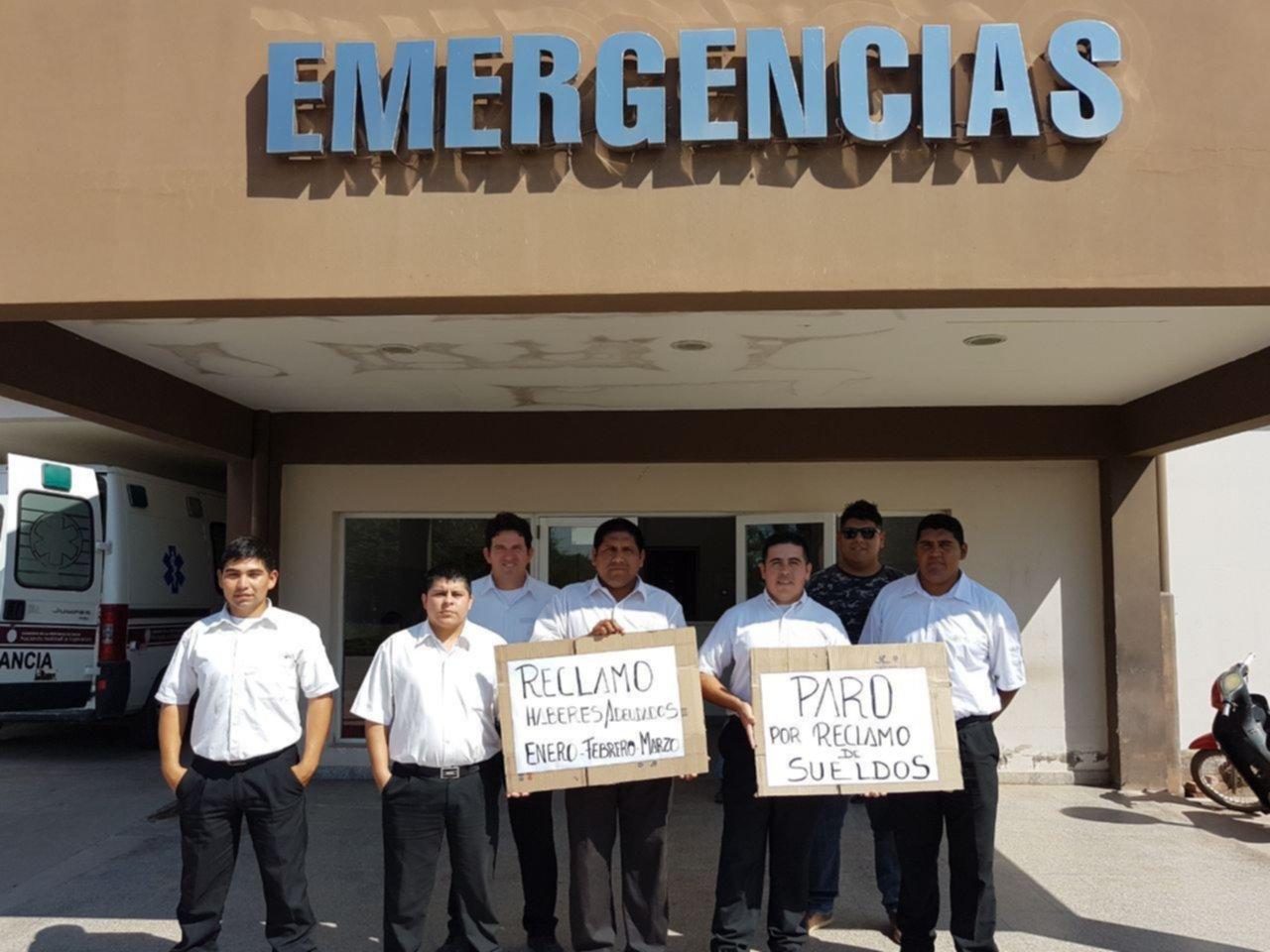 Paro: los guardias del hospital Romero no cobran hace tres meses