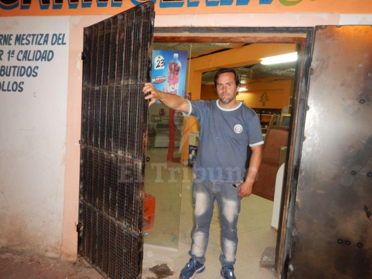 Roban por séptima vez a un carnicero en Metán