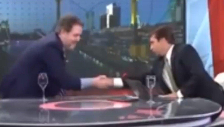 Se cayó un invitado de Feinmann en medio del programa — En vivo