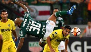 Boca iguala en Brasil 0 a 0 frente a Palmeiras