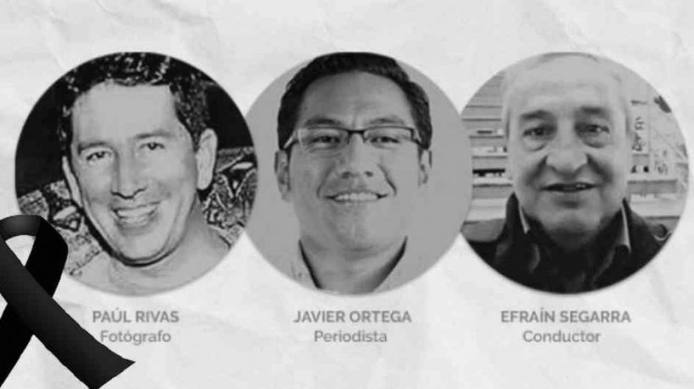 SIP condena asesinato de periodistas ecuatorianos