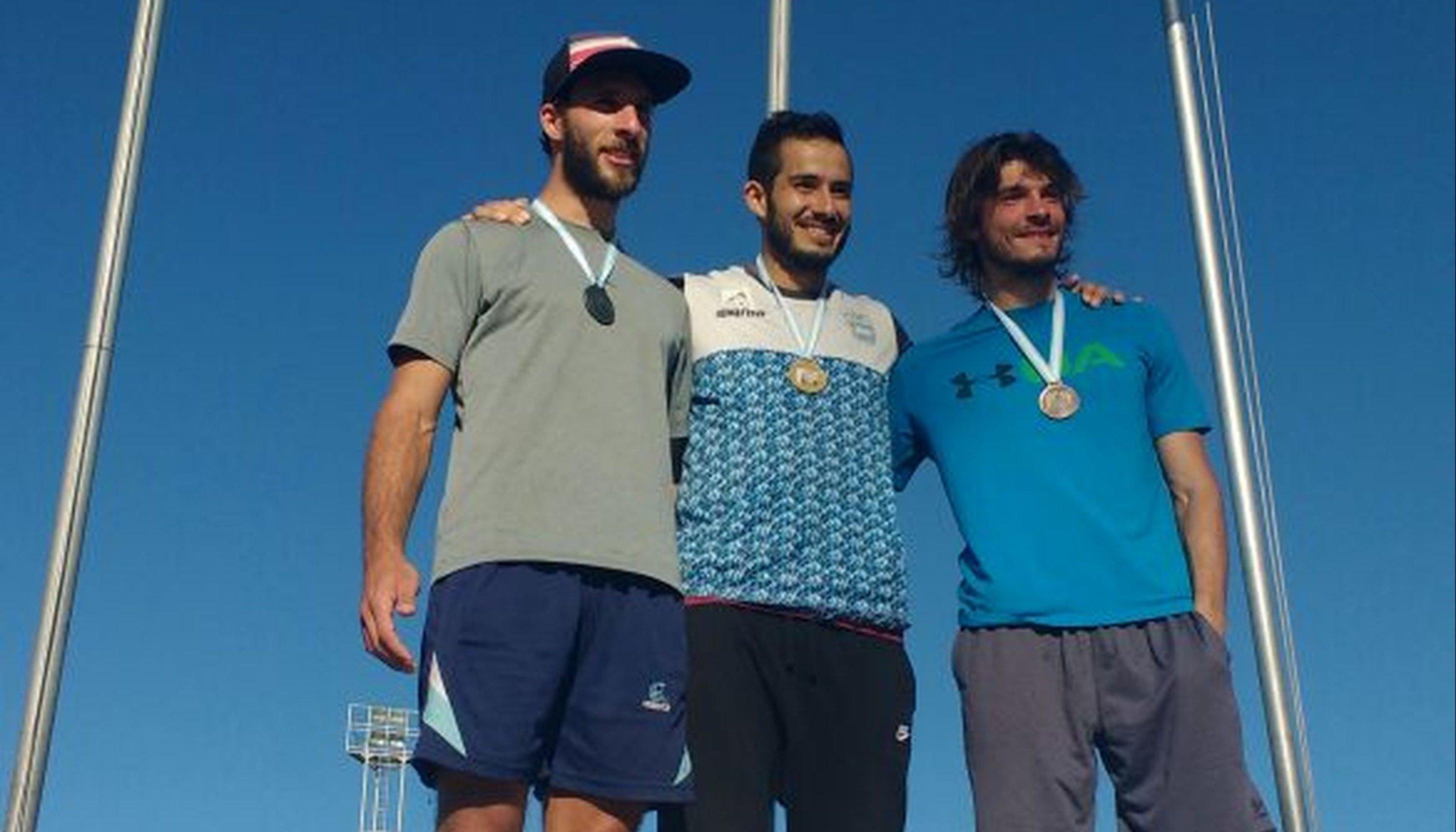 Maxi Díaz dio el salto a otro título nacional