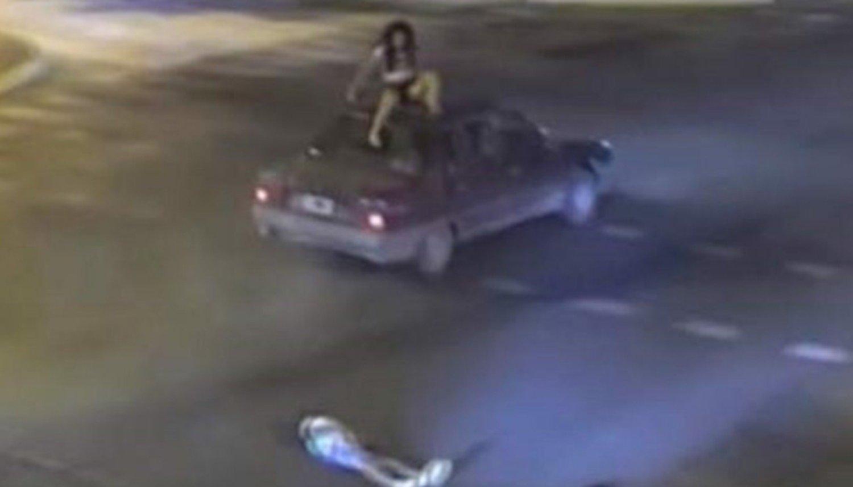 Tremendo: dos menores iban en moto y volaron por el aire