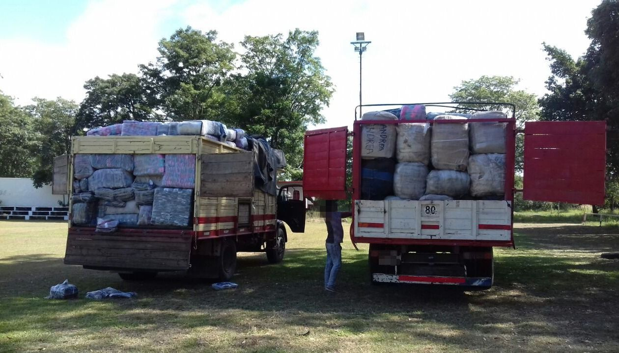 Secuestraron 15 kilos de cocaína entre la mercadería ilegal de bagayeros