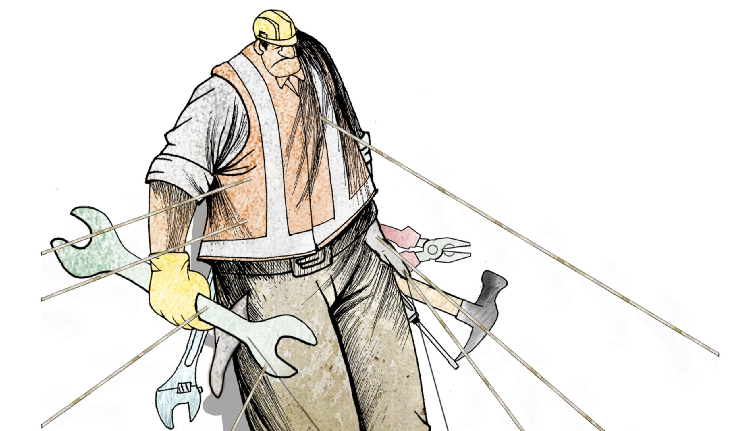 El trabajo, uno de los flancos  débiles de las últimas década