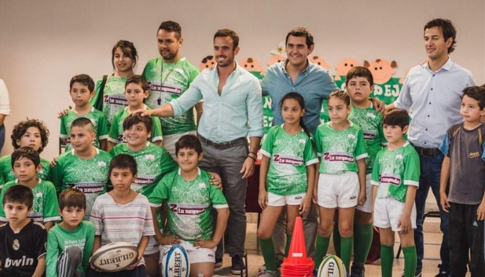 El rugby inclusivo llegó al barrio  más grande: el Ramón Abdala
