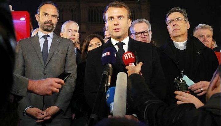 """""""Vamos a reconstruir Notre Dame todos juntos"""", dijo Macron tras el devastador incendio"""