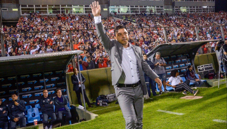 Gallardo y la ovación donde todo comenzó